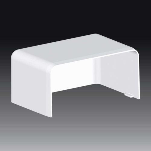 Kryt LH 80x40 koncový, bílý, 8501