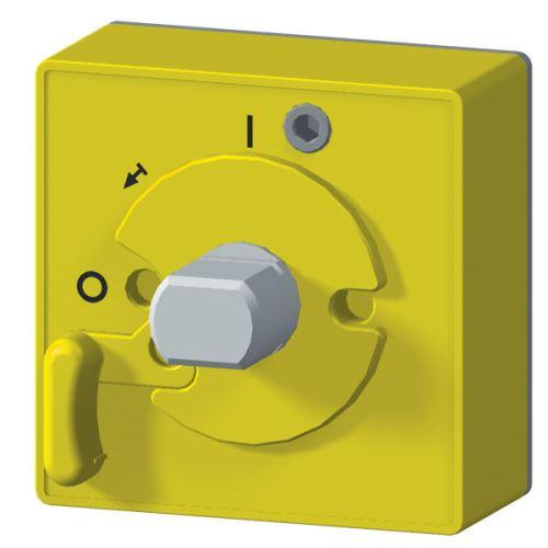 Ložisko ručního pohonu IP40, žlutý štítek   RP-BC-CN11