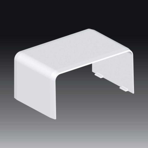 Kryt LH 80x40 spojovací, bílý, 8502