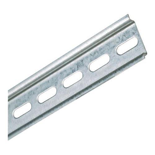Lišta přístrojová DIN 35x 7,5 perforovaná 2m (otvor 6,3mm) Schmachtl