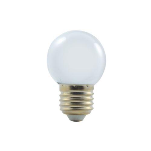 LED žárovka COLOUR 1W/E27 bílá 3000K
