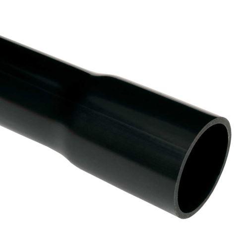 Trubka pevná 8020 /3m černá 20mm