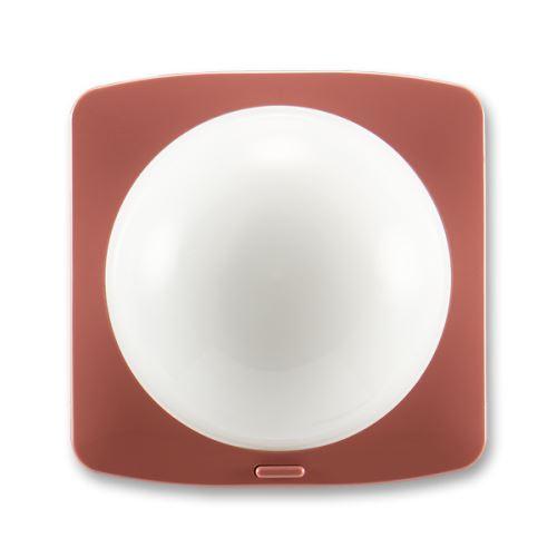 Snímač spínače automatického (kužel, úhel 120°), vřesová červená, ABB Tango