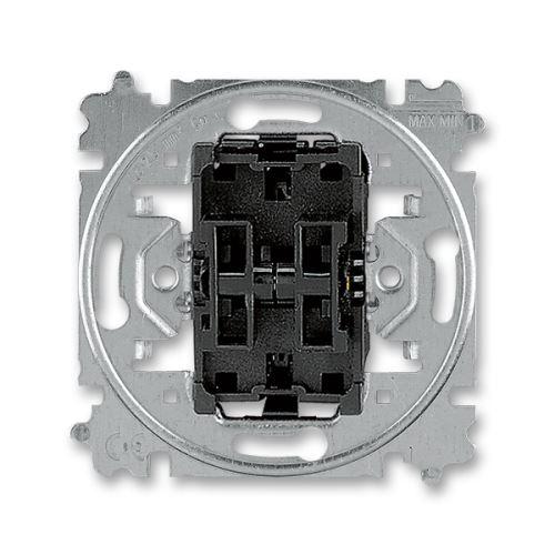 Přístroj přepínače střídavého dvojitého ABB 3559-A52345