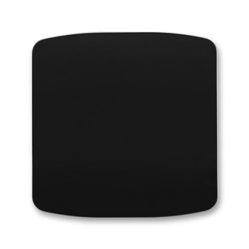 Kryt stmívače s krátkocestným ovladačem, černá, ABB Tango
