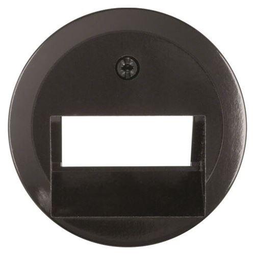 Centrální díl pro zásuvku UAE/E-DAT design/ISDN 1930/Glas/Palazzo čern