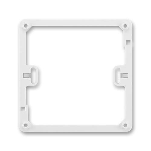 Rámeček distanční, v = 12,5 mm, jasně bílá, ABB Classic