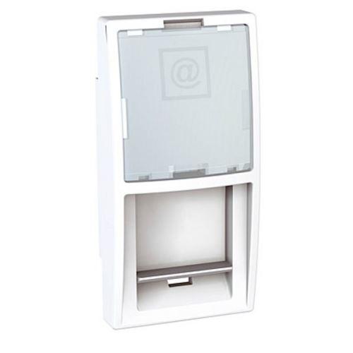 Kryt datové zásuvky pro kon.AMP,KRONE, LUCENT a ATT (Avaya), Polar Schneider