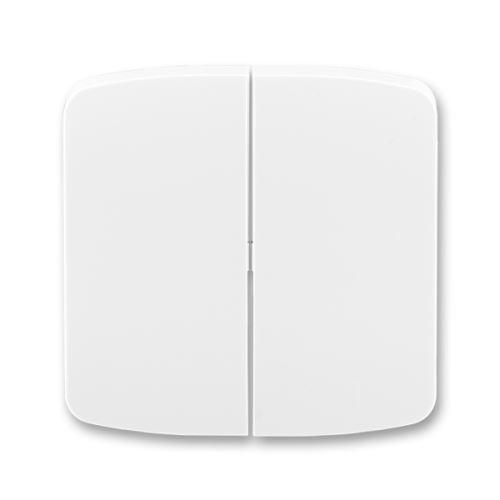 Kryt spínače dělený, bílá, ABB Tango 3558A-A652 B