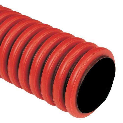 Trubka zemní ohebná KOPOFLEX 110 červená 50m