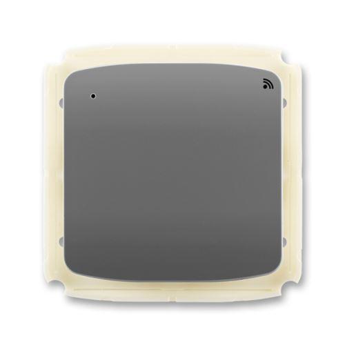 Vysílač RF s krátkocestným ovladačem, nástěnný, 868 MHz, kouřově šedá, ABB Tango