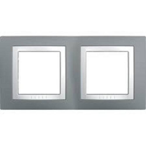 Krycí rámeček dvojnásobný kompletní, Technico/Polar Schneider
