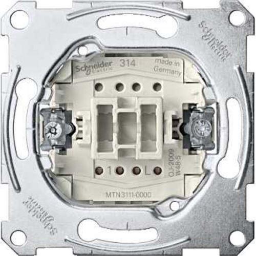 Mechanismus spínače jednopólového ř.1, 10A Schneider, Merten System M