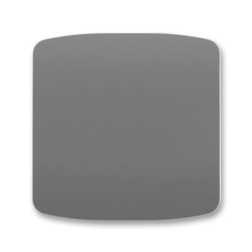 Kryt stmívače s krátkocestným ovladačem, kouřově šedá, ABB Tango