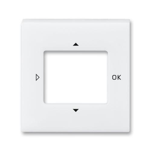 Kryt ovladače časovače komfortního nebo časovače Busch-Timer, bílá/bílá, ABB Levit