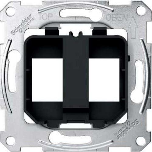 Montážní rám pro modulární konektory Schneider, Merten System M
