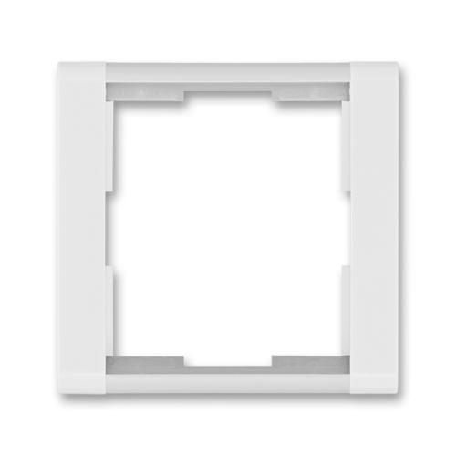 Rámeček jednonásobný, bílá/ledová bílá, ABB Element, Time