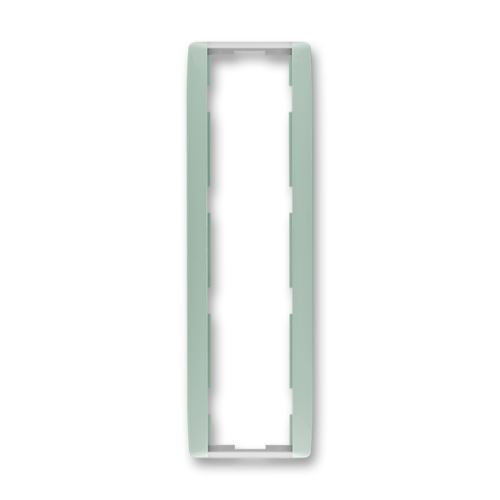 ABB 3901E-A00141 22 Rámeček svislý čtyřnásobný, agáve / ledová bílá, ElementR