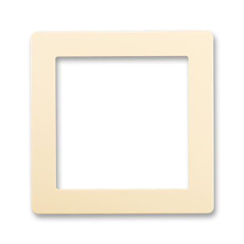Kryt přístroje osvětlením s LED nebo adaptéru Profil 45, krémová, ABB Swing / Swing L