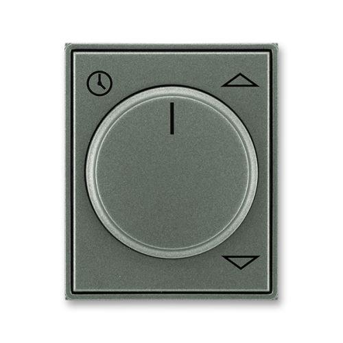 Kryt spínače žaluziového komfortního s otočným ovladačem, antracitová, ABB Time