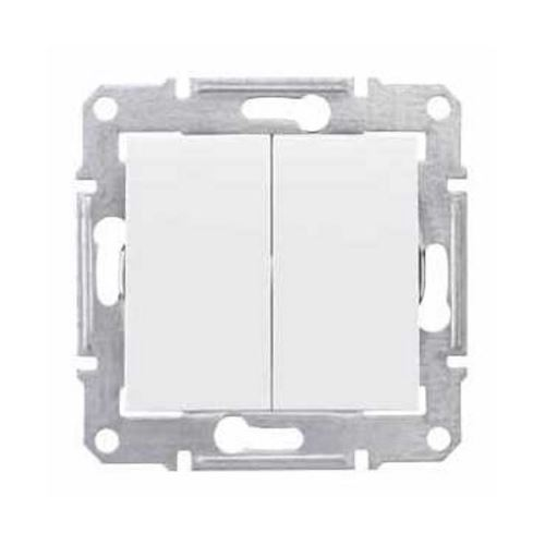 Přepínač sériový bez rámečku, ř. 5, Polar Schneider Sedna