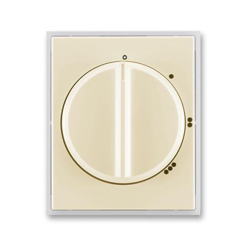 Kryt spínače s otočným ovládáním pro 3stup. spínač s 0 polohou, slonová kost/ledová bílá, ABB, Element