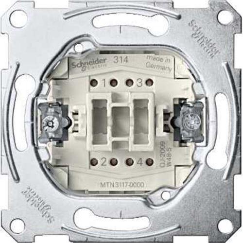 Mechanismus přepínače křížového ř. 7, 10A Schneider, Merten System M