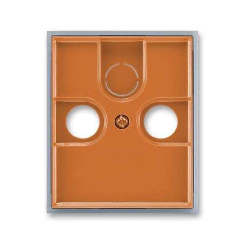 ABB 5011E-A00300 07 Kryt zásuvky anténní TV+R(+SAT), karamelová / ledová šedá, ElementR