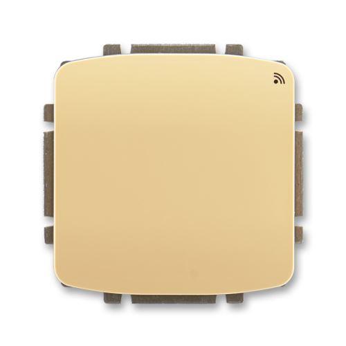 Spínač s krátkocestným ovladačem, s RF přijímačem, 868 MHz, béžová, ABB Tango