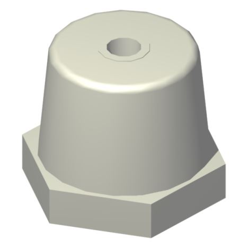 Izolátor podpěrný  PW40M10 šedá