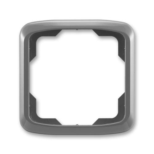 Rámeček jednonásobný, kouřově šedá, ABB Tango