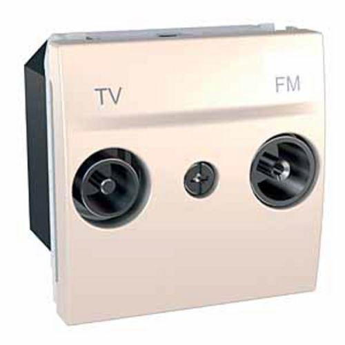 Zásuvka TV-R průchozí, 17dB, Marfil Schneider