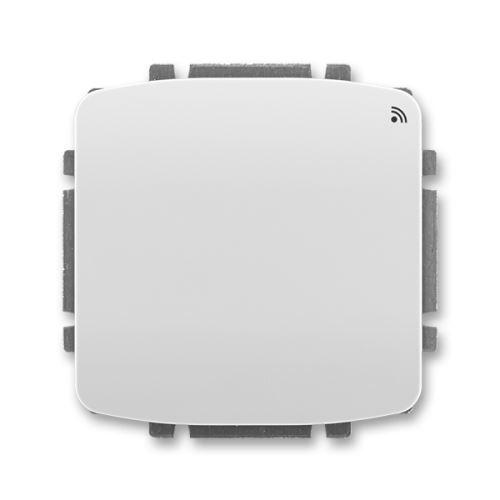 Spínač s krátkocestným ovladačem, s RF přijímačem, 868 MHz, šedá, ABB Tango