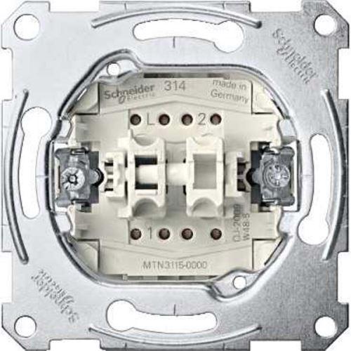 Mechanismus přepínače sériového ř. 5, 10A Schneider, Merten System M