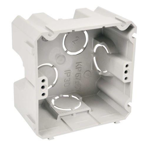 Krabice přístrojová KP67x67 71x71x42mm