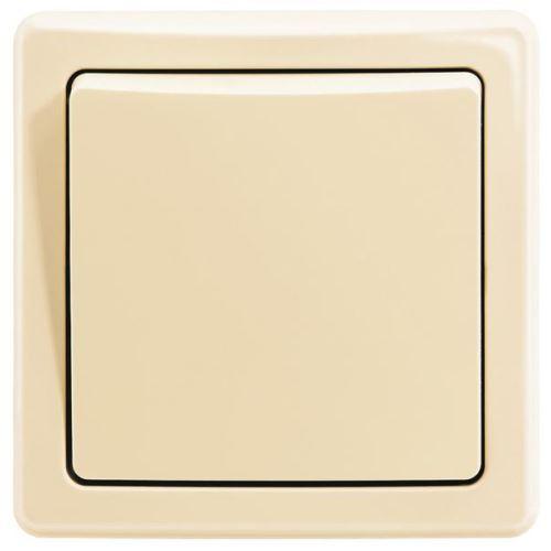 ABB 3557G-C07340 C1 Spínač kolébkový s krytem a rámečkem, řazení 7, krémová, Swing komplet 50SWC07C1