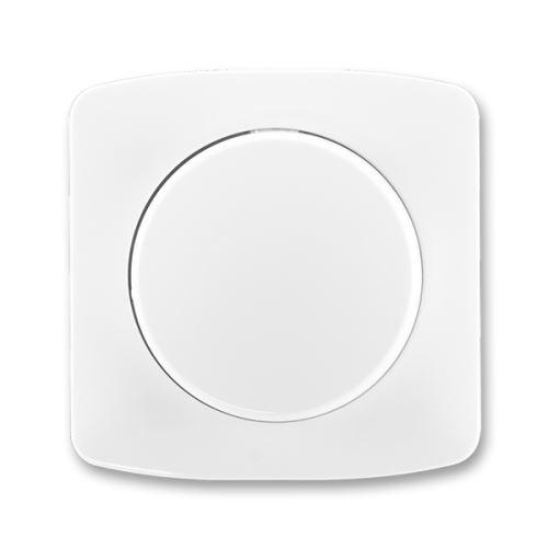 Kryt stmívače s otočným ovládáním s upevňovací maticí, bílá, ABB Tango