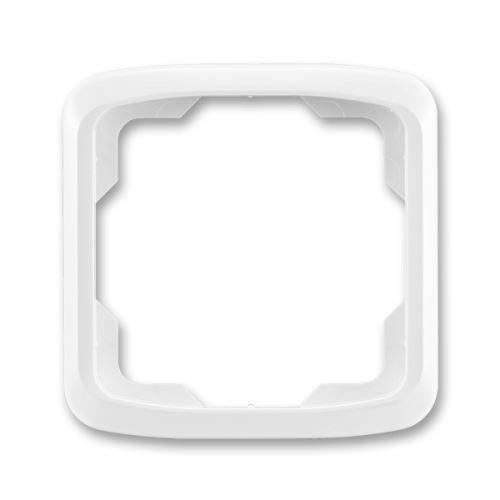 Rámeček jednonásobný, bílá, ABB Tango