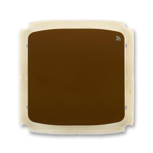 Vysílač RF s krátkocestným ovladačem, nástěnný, 868 MHz, hnědá, ABB Tango