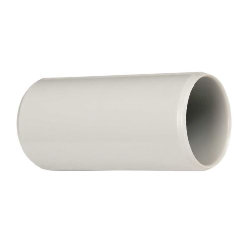Spojka trubky EN  25mm 0225 LB tmavě šedá