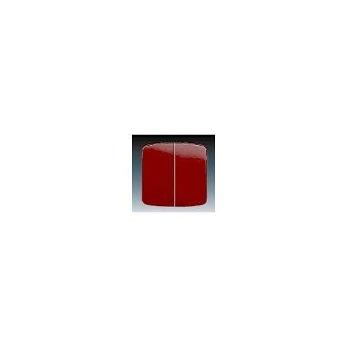 Vypínač dvojitý 3558A-A652R Tango R-bordó