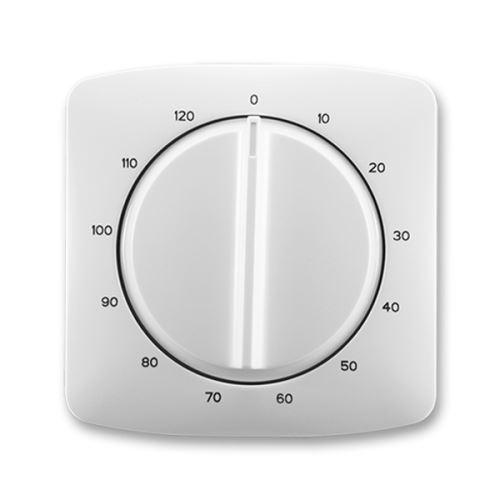 Kryt ovládače časového s otočným ovladačem, šedá, ABB Tango