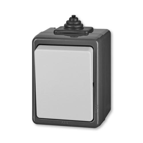 Přepínač Praktik střídavý IP 44 ABB
