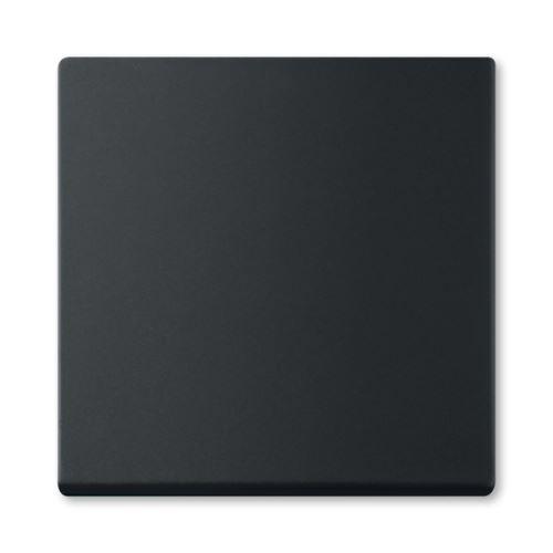 Kryt spínače jednoduchý, mechová černá, ABB Future linear 3559B-A00651885