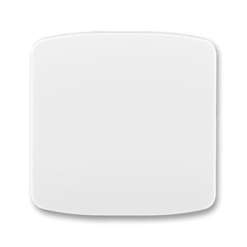 Kryt spínače jednoduchý, bílá, ABB Tango