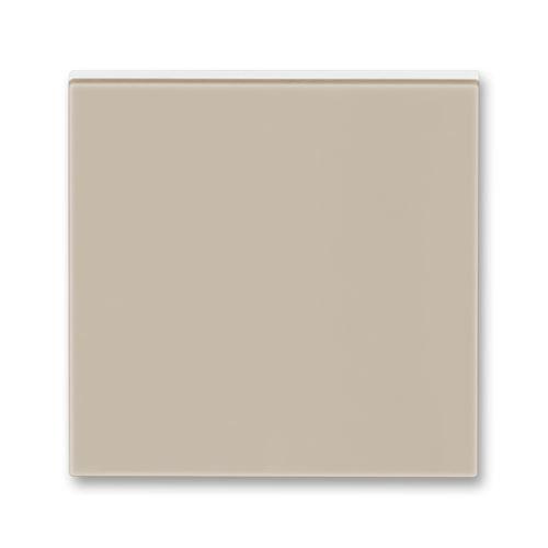 Kryt stmívače s krátkocestným ovladačem, macchiato/bílá, ABB Levit