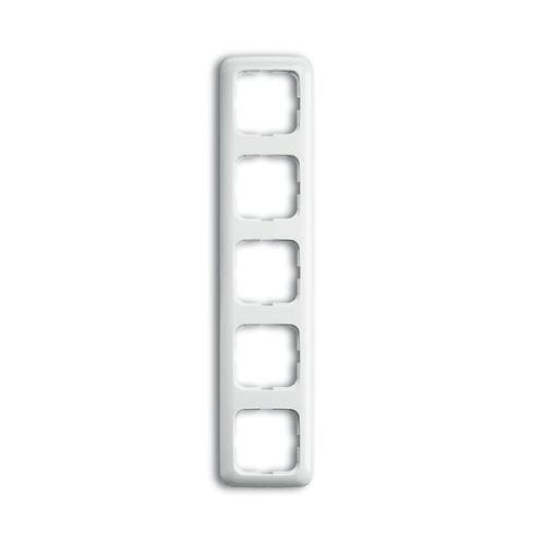 Reflex SI rámeček 5-násobný vodorovný/svislý alpská bílá