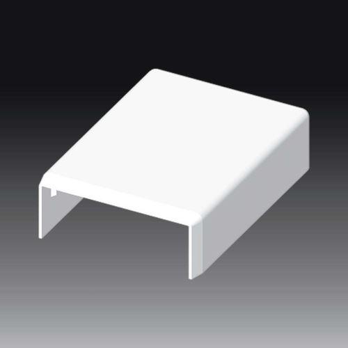 Kryt LV 40x15 koncový, bílý, 8711