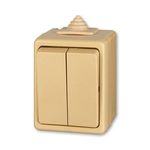 Přepínač Praktik sériový IP 44 ABB