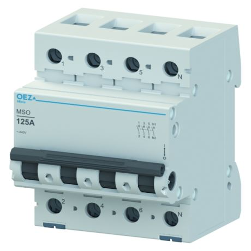 Vypínač výkonový 3p+N  32A 250V/440V AC MSO